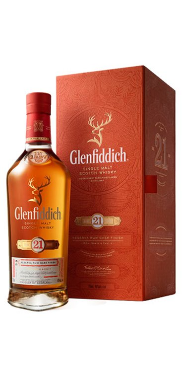 Whisky Glenfiddich 21 Años
