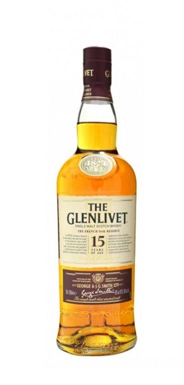 Whisky Glenlivet 15 Años