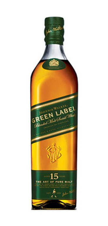 Whisky Johnnie Walker Green Label