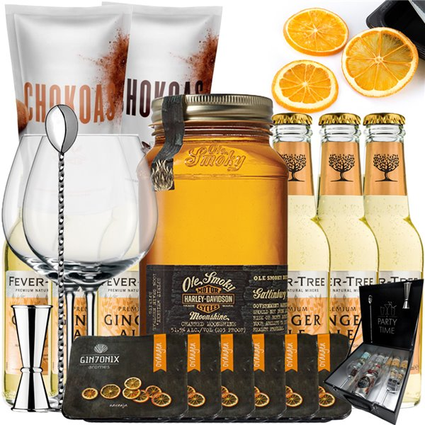 Whisky Ole Smoky Harley Davidson con Ginger Ale