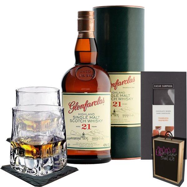 Whisky para regalar - Glenfarclas 21 Años