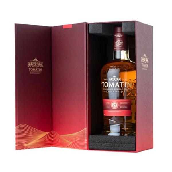 Whisky Tomatin 21 años + Estuche 0.70 L.