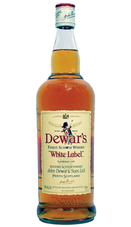 Whisky White Label Deward`s Finest Scotch Whisky