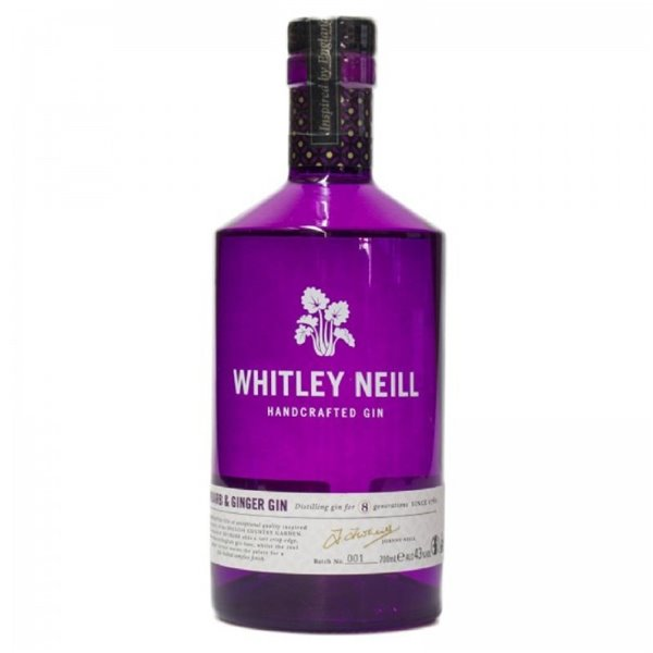 WHITLEY NEILL RHUBARB & GINGER 0,70 L.