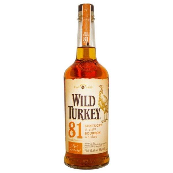 WILD TURKEY 81 0,70 LITROS 40,5º