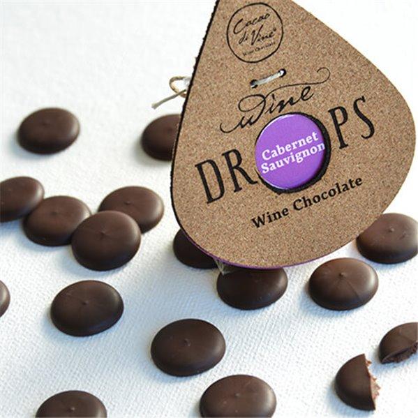 Wine drops cabernet sauvignon (bombones de vino)