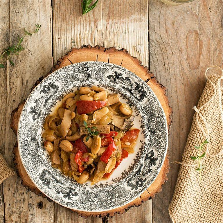 Wok de verduras con soja y cacahuetes - 350 g., 1 ud