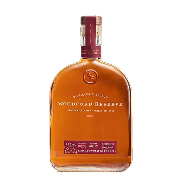 WOODFORD RESERVE STRAIGHT WHEAT 0,70 LITROS 45,2º