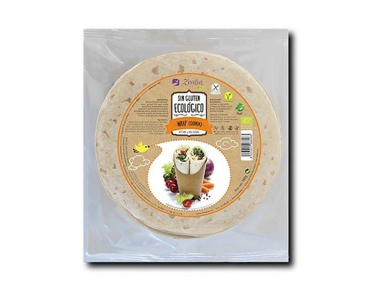 Wrap de Quinoa Sin Gluten, 180 gr