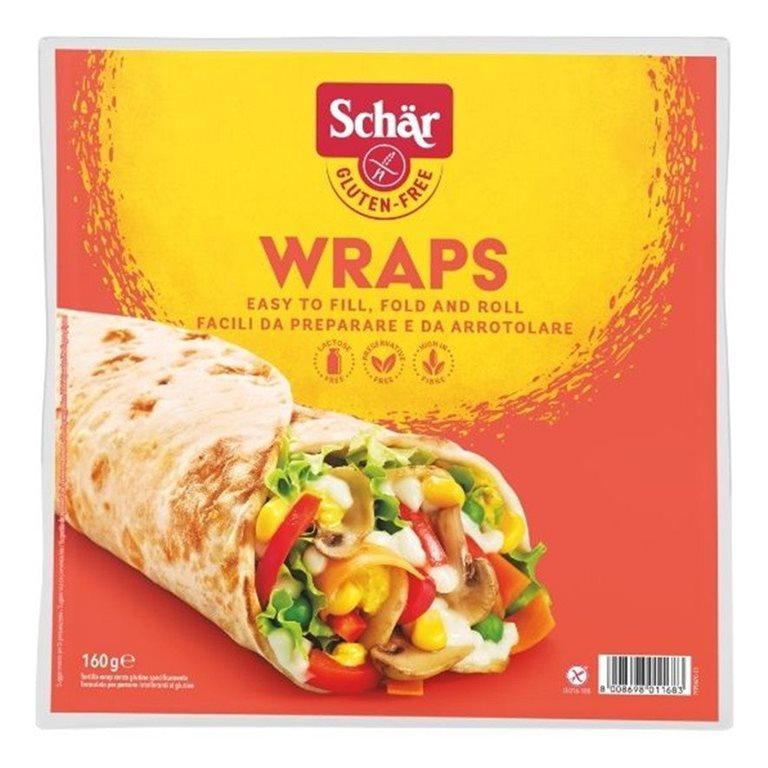 Wrap Tortilla Multicereales Sin Gluten 180g (3 Unds.), 1 ud