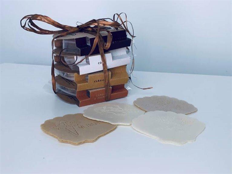 Xacobleas - pack regalo 4 unidades formato cartón