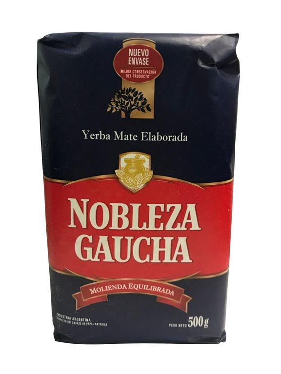 Y.MATE NOBLEZA GAUCHA AZUL 500GR