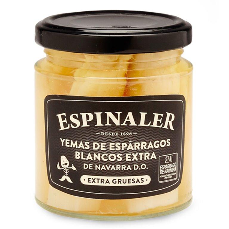 Yemas de espárragos de Navarra 250gr. Espinaler. 12un., 1 ud