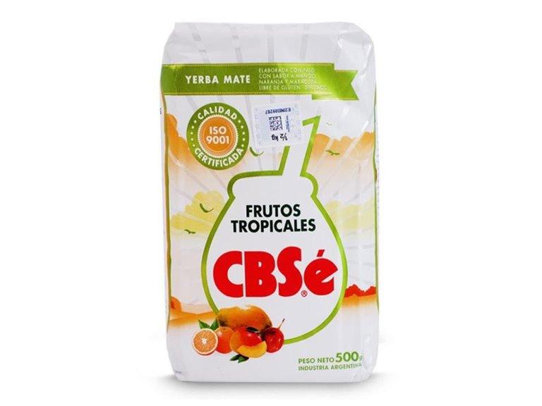 Yerba Mate CBSe Frutas Tropicales 500g