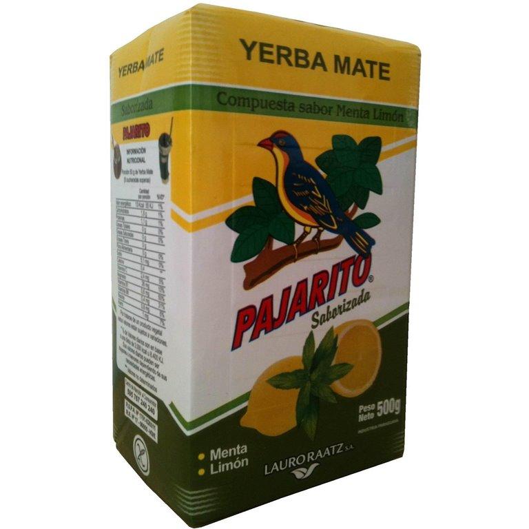 Yerba Mate Menta-Limón 500g, 1 ud