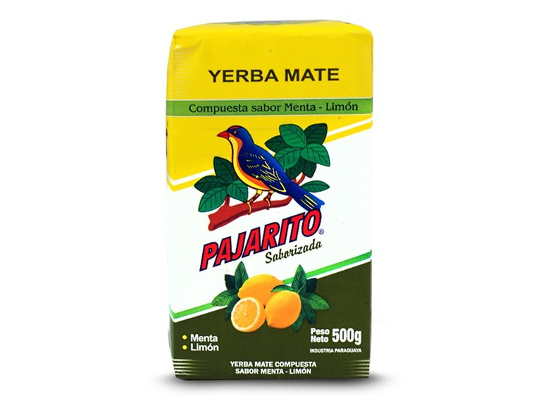 """Yerba Mate """"Pajarito"""" Menta-Limón 500g"""