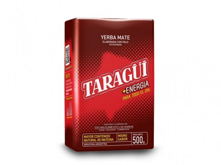 YERBA MATE TARAGUI ENERGIA 500G, 1 ud