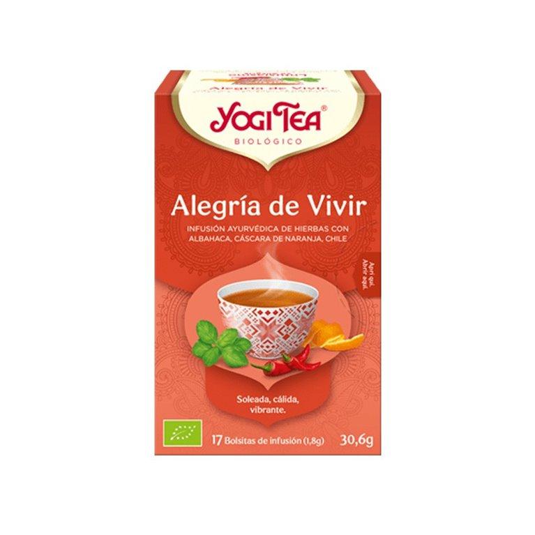 Yogi Tea Alegria de Vivir Bio
