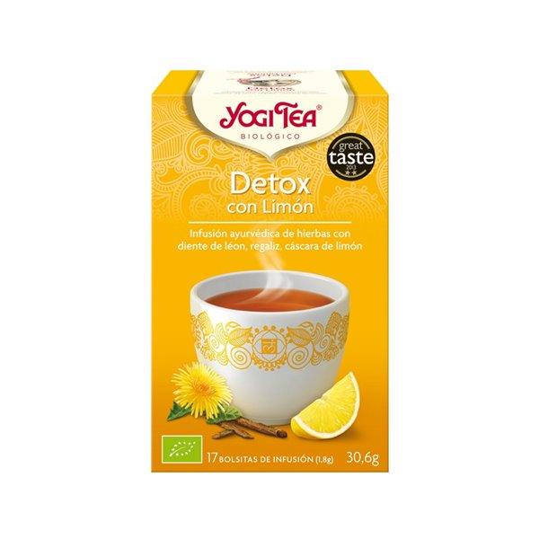 Yogi Tea Detox con Limón Bio