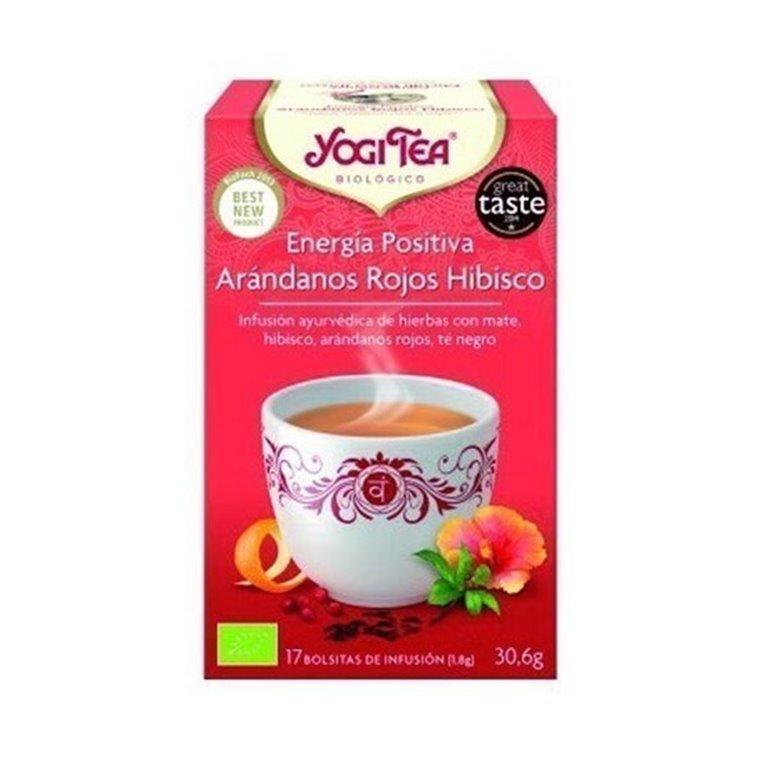 Yogi Tea Energia Positiva Arandanos Hibiscus