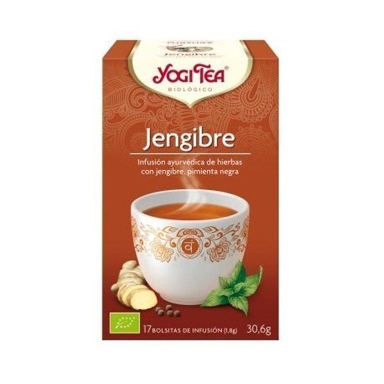 Yogi Tea Jengibre Bolsita