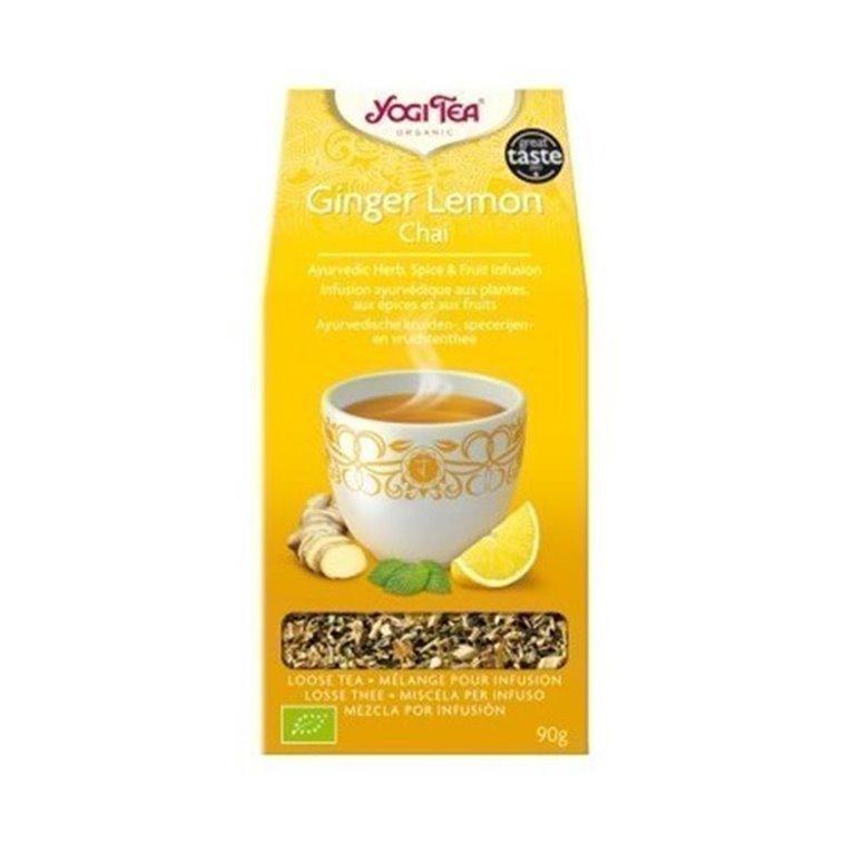 Yogi Tea Jengibre Limon Chai 90