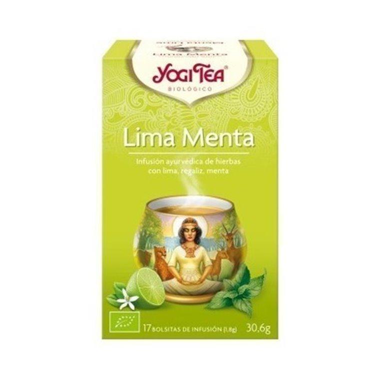 Yogi Tea Menta Y Lima Bolsitas