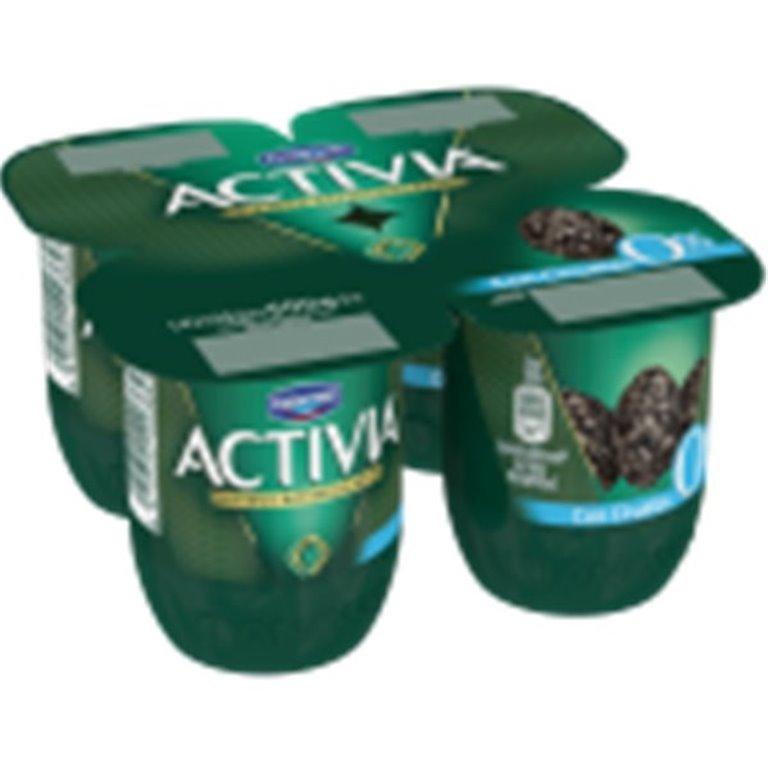 Yogur con ciruelas  Activia