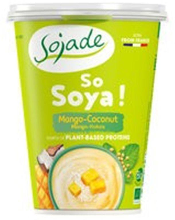 Yogur de Soja Mango y Coco, 400 gr