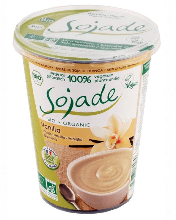 Yogur de soja y vainilla, 400 gr