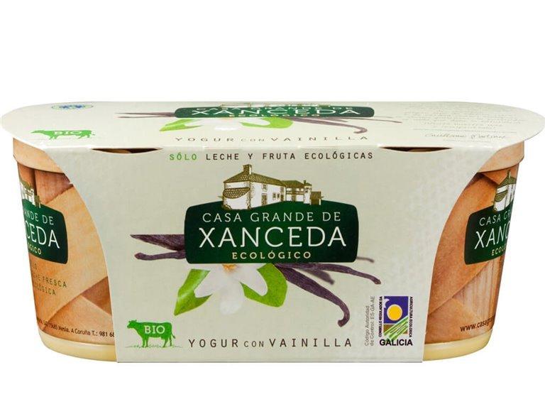 Yogur Entero Ecológico Vainilla, 250 gr