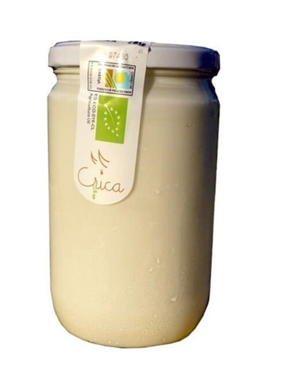 Yogur entero natural de vaca, 1 kg