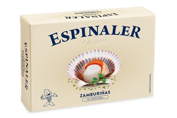 Zamburiñas al Natural Espinaler