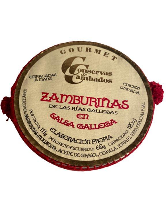 Zamburiñas of the Galician estuaries GOURMET