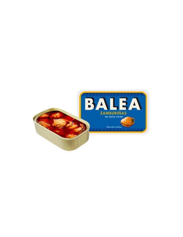 Zamburiñas en salsa de vieira RR-125