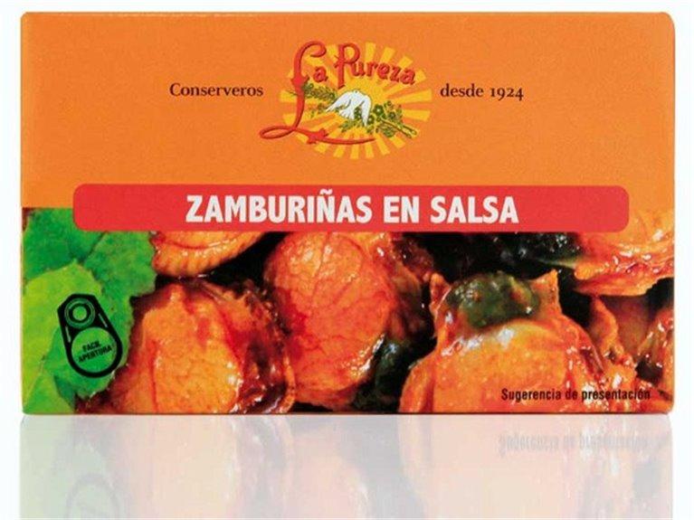 Zamburiñas en Salsa