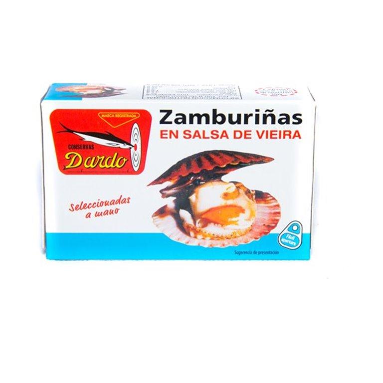 Zamburiñas salsa vieira 120g, 1 ud
