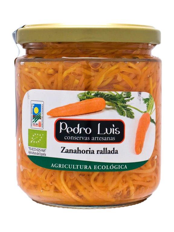 Zanahoria Ecológica Rallada, 350 gr
