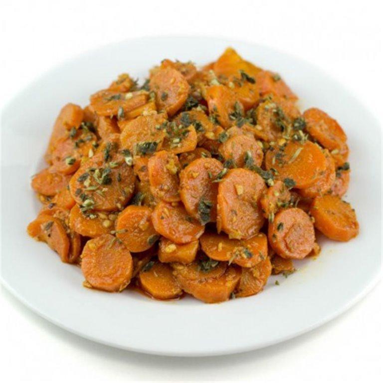 Zanahorias aliñadas, 1 ud