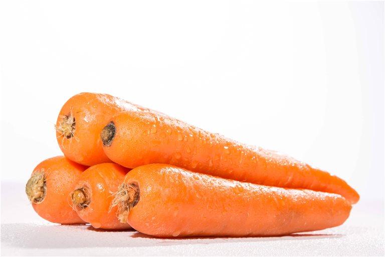 Organic Leafless Organic Carrots - 500 Gr