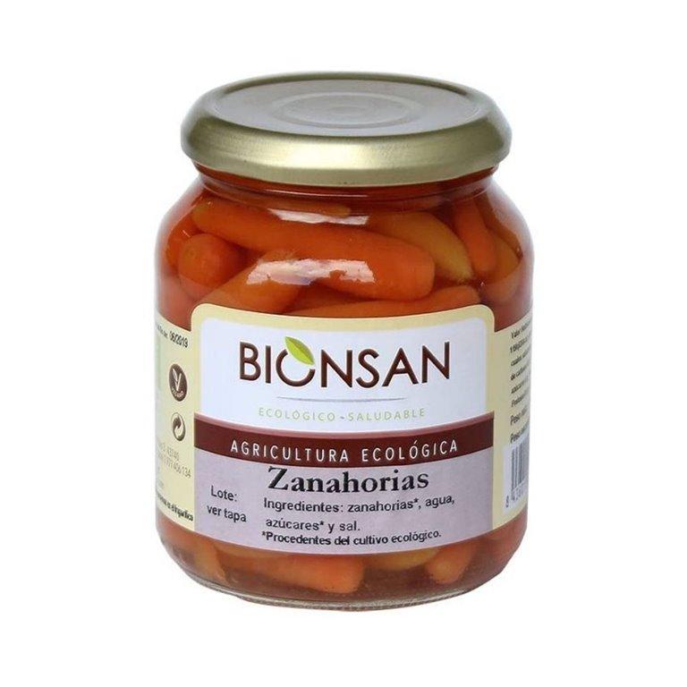 Zanahorias en conserva ecológicas -320gr