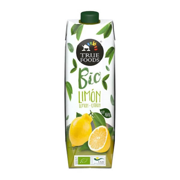 Zumo de limón con ágave - Truefoods