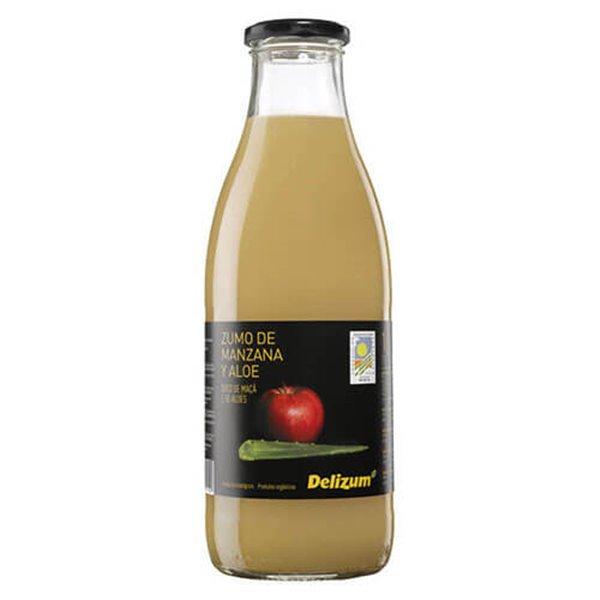 Zumo de manzana y aloe vera - Delizum