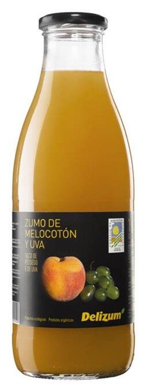 Zumo de melocotón y uva - Delizum