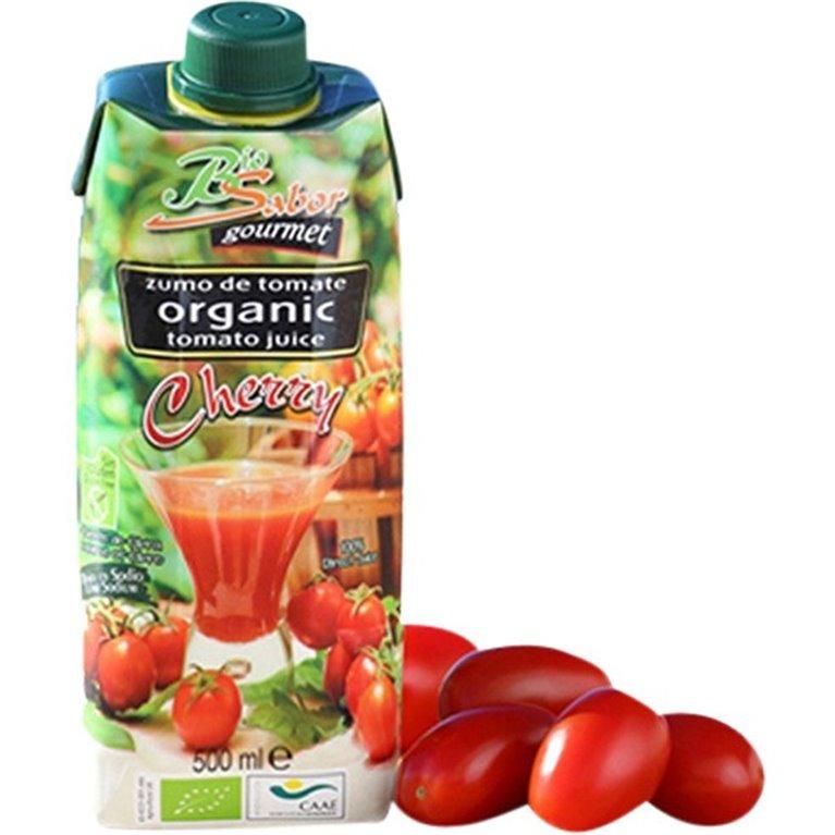 Zumo de tomate cherry