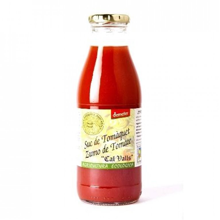 Zumo de tomate demeter, 1 ud