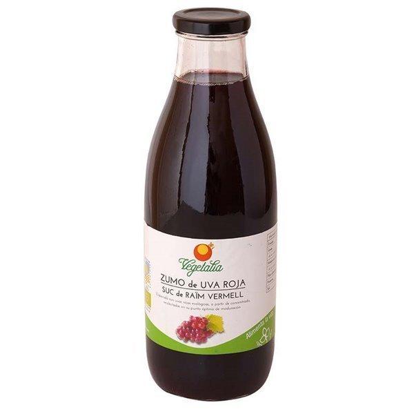 Zumo de uva roja ecológico Vegetalia 1L