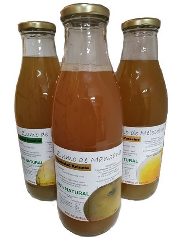 Zumo Natural - Lote 3 botellas, 1 kg