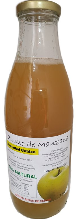Zumo Natural Manzana Golden, 1 kg