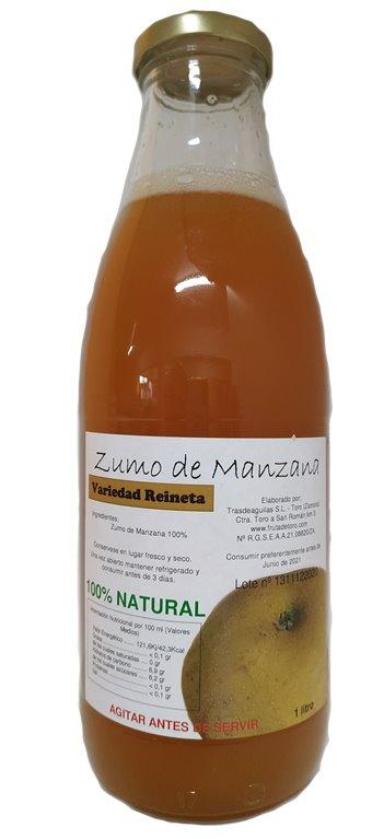 Zumo Natural Manzana Reineta Parda - 3 botellas, 1 kg